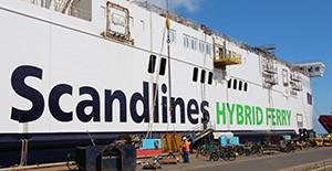 Scandlines Hybrid Ferry.