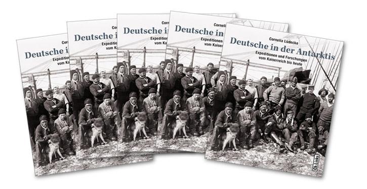 """Cover """"Deutsche in der Antarktis""""."""
