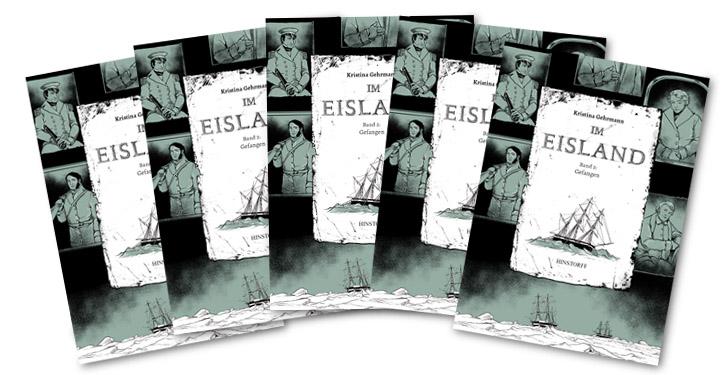 "Cover ""Im Eisland"" Band 1."