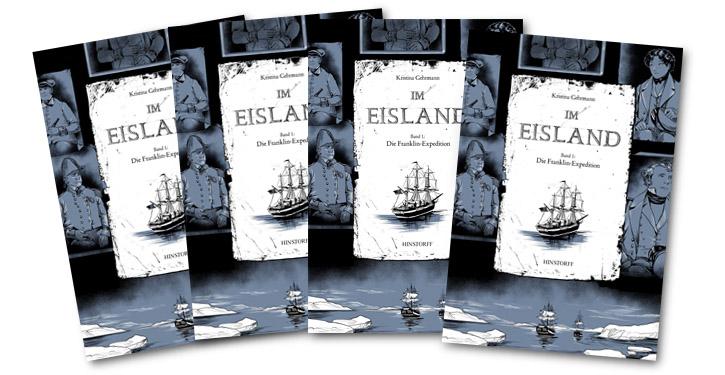 "Cover ""Im Eisland"" Band 2."