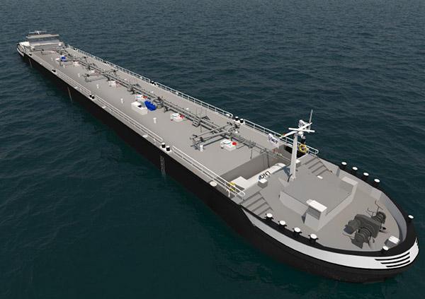 Projektzeichnung der Shell-Neubauten, die bei VEKA Shipyard gebaut werden sollen.