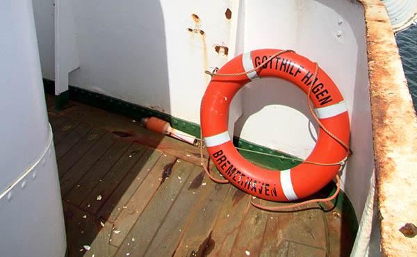 Die ehemalige GOTTHILF HAGEN wird seit ein paar Jahren zum Yachtprojekt NELSON MANDELA auf einer niederländischen Werft in Werkendam umgebaut.