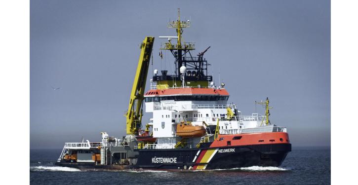 NEUWERK, 2010 vor Cuxhaven.
