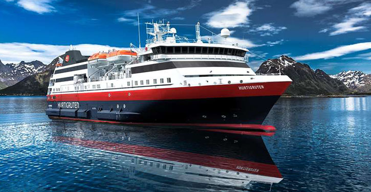 SPITSBERGEN, Annimation Hurtigruten