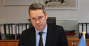 Portrait Gerd Wessels, CEO der Wessels Reederei GmbH.