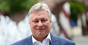 Martin Burkert (SPD), MdB und Vorsitzender des Ausschusses für Verkehr und digitale Infrastruktur im Bundestag.