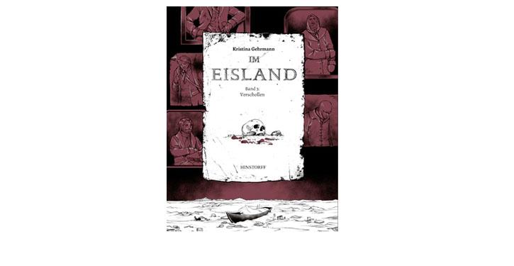 Buchcover Im Eisland verschollen Band 3.