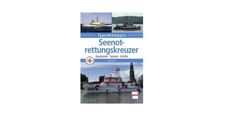 "Buchcover ""Seenotrettungskreuzer""."