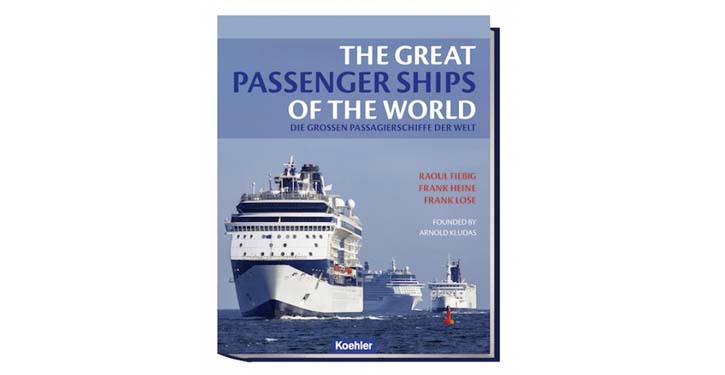 """Buchcover """"The great Passenger Ships of the world""""."""
