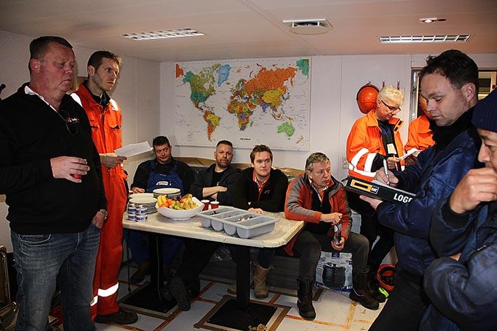 GS Yard-Projektmanager Willem Heres gibt erste Ergebnisse der Tests bekannt.