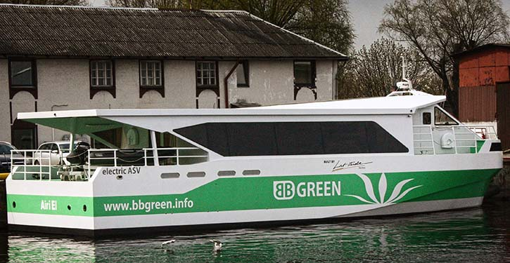 BB GREEN ready for test drives.