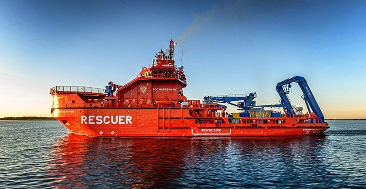 Rettungsschiff BERINGOV PROLIV