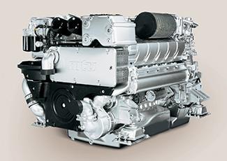 MTU-Motor des Typs 10V 2000 M72.