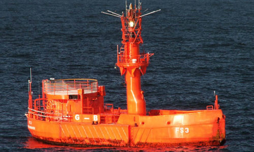 BSH setzt Treibbojen von Feuerschiff aus