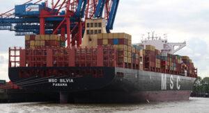 Containerschiff MSC SILVIA