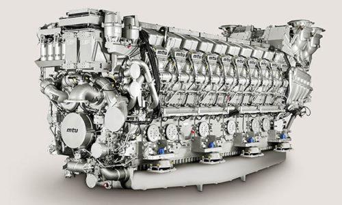MTU-Motor des Typs 20V 8000 M91L