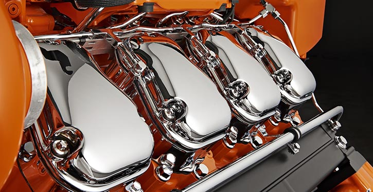 Scania-Motoren erfüllen die IMO-Tier III Abgasgrenzwerte.