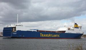 Fährschiff TRANSTIMBER.