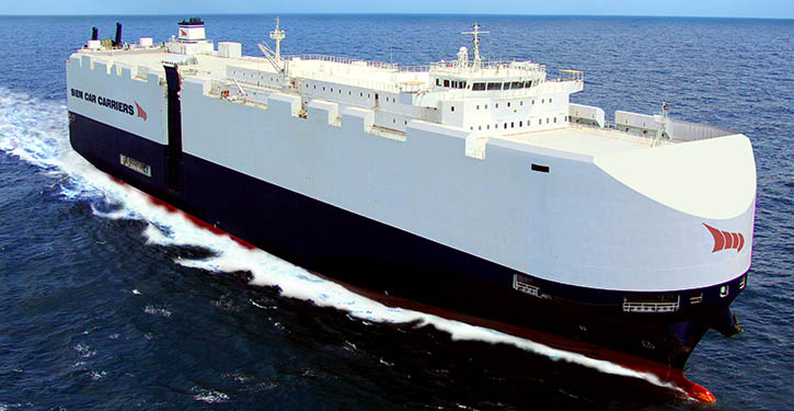 Newbuild natural gas fuelled car carrierfrom Siem Car Carriers.