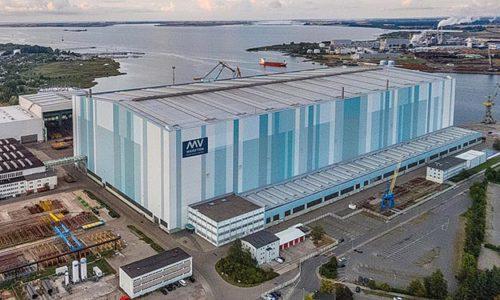 Produktionsstandort der MV Werften.