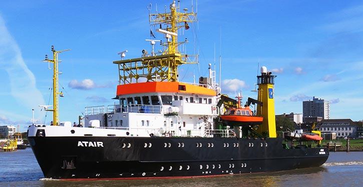 Die bisherige MS ATAIR erhält einen modernen Nachfolger.