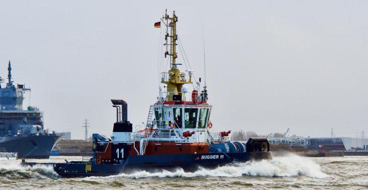 Die türkische Werft Bogazici Denizcilik Sanayi ve Ticaret in Istanbul baute die BUGSIER 11. Pfahlzug 85,5 t.
