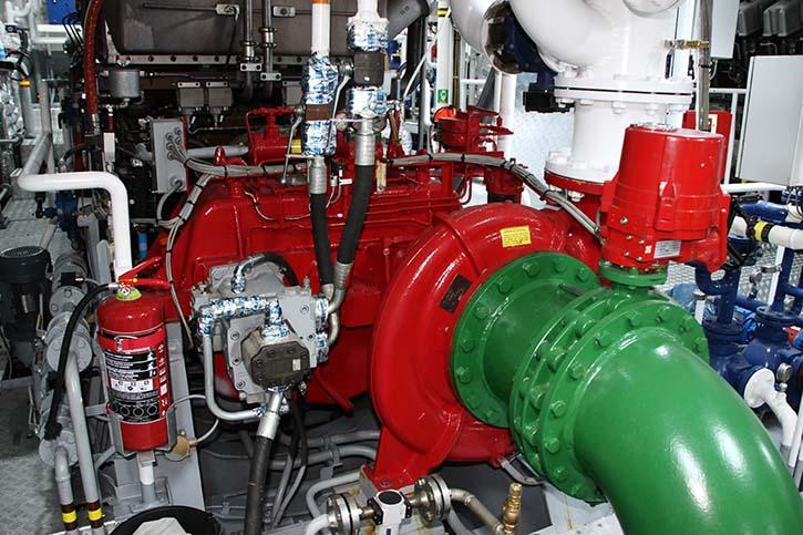 BUGSIER 11 mit FiFi-1-Feuerlöschsystem. © P.Pospiech