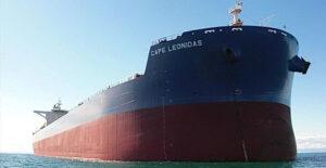 Cape Leonidas in Fahrt.
