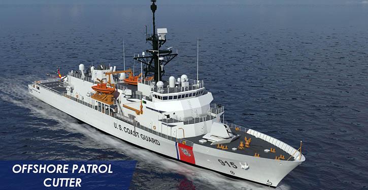 Hochseepatrouillenboot der US-Küstenwache.
