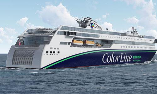 Color Line hybrid vessel