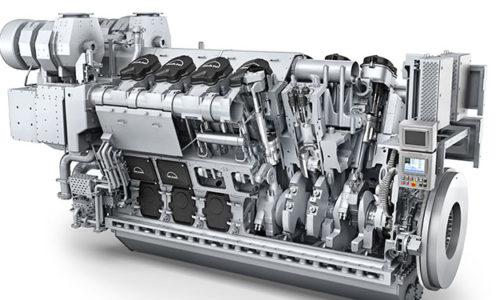 Image of an MAN 32/44CR engine