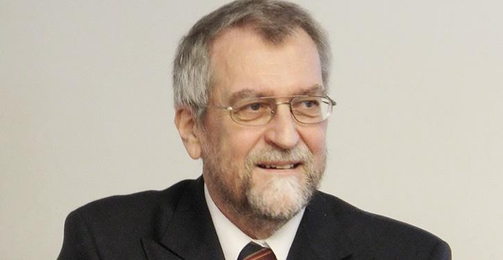 Ulrich Schmidt, Leiter der Dienststelle Schiffssicherheit der BG Verkehr.