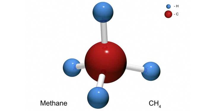 Methanmolekül