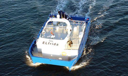 In Norwegen wurde das weltweit erste batterieelektrische Arbeitsschiff für die Fischzucht in Betrieb genommen.