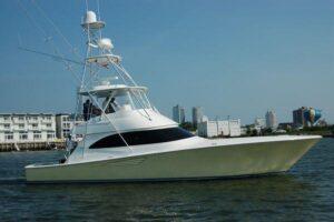 Viking Yachts 52C.