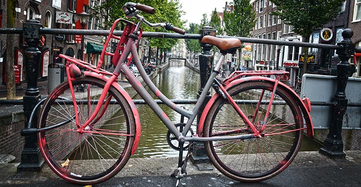 Wie man Amsterdam kennt…