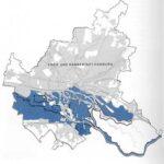 Das blaueingefärbte zeigt die riesigen überschwemmten Gebiete in Hamburg.