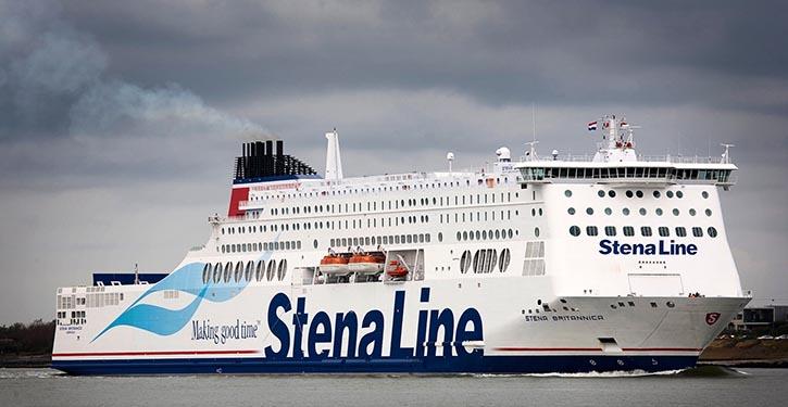 Stena Britannica in Fahrt.