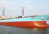 Maersk-Tanker mit Flettner Rotoren
