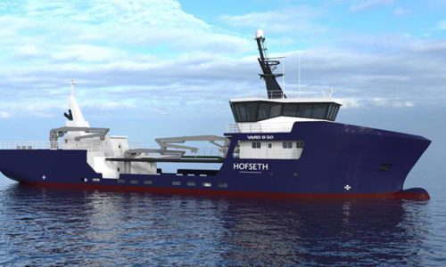 VARD 8 50 Live Fish Transportation Vessel,