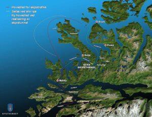 Schiffstunnel erspart Passagier- und Frachtschiffen den riesigen Umweg rund um die Halbinsel Stadlandet.