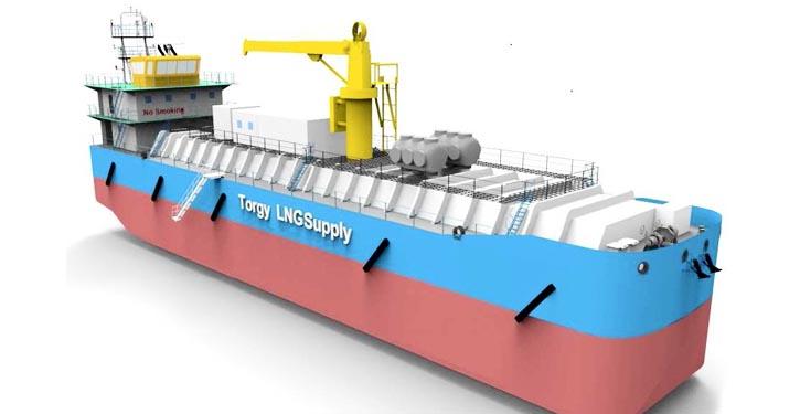 LNG-Barge Type-A-tanks