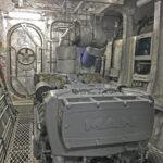 Mit zwei MAN D2862 LE 456 V12-Motoren schlummern im Maschinenraum der Dalby Ouse insgesamt 2.427 kW.
