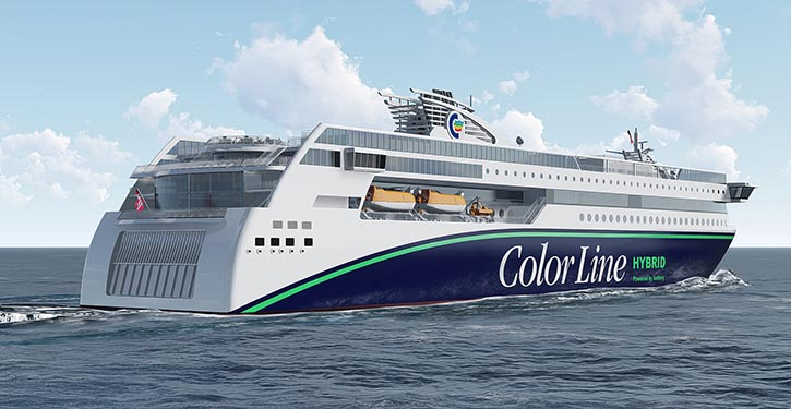 MV COLOR HYBRID from aft.