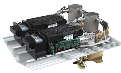 Volvo Penta's IMO Tier III solution for Volvo Penta Inboard Performance System.