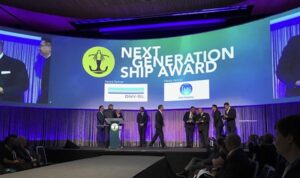 Announcement of Next Generation Ship Award 2017.