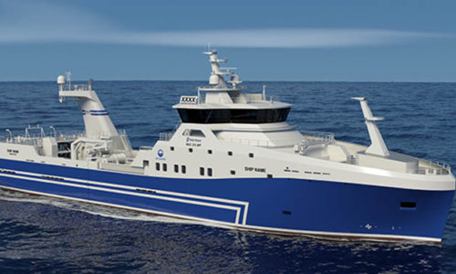 Design of the new Stern Trawler for HB Grandi.