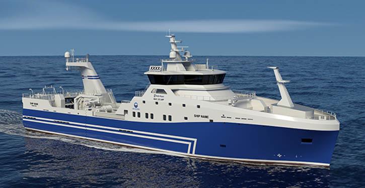 Design of the new Stern Trawler for HB Grandi.