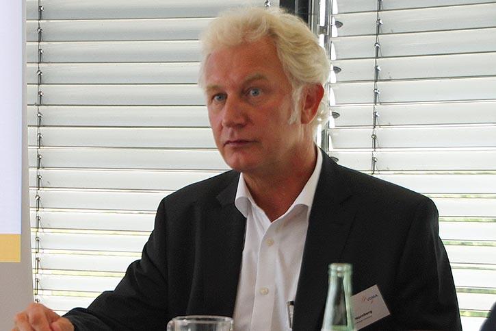 Dr. Nürnberg, Vorstandvorsitzender im VDMA