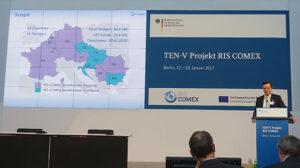Das Projekt TEN-V RIS COMEX wurde in Berlin Anfang 2017 vorgestellt